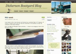 Dickerson Boatyard Blog