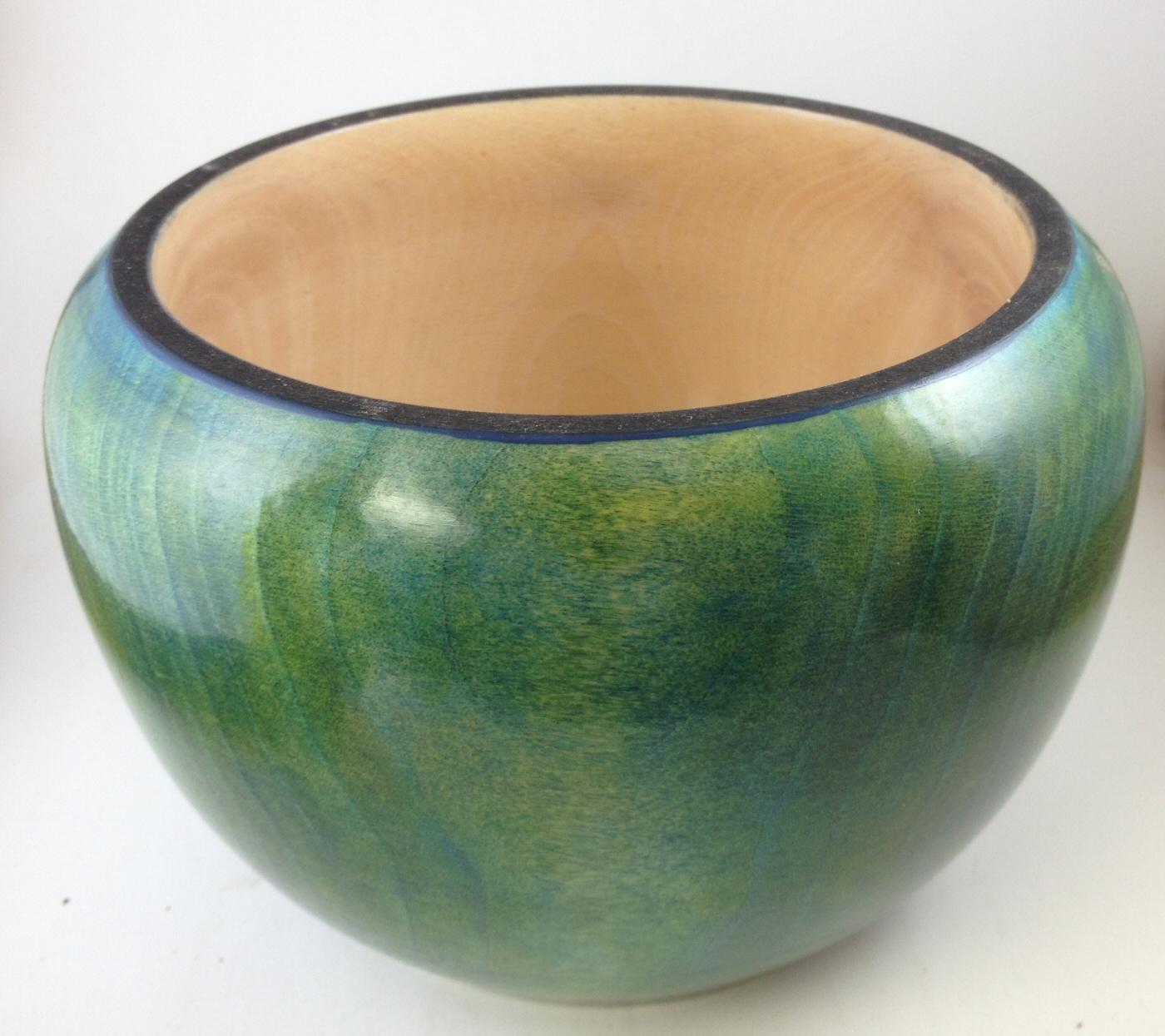 Green Calabash Bowl