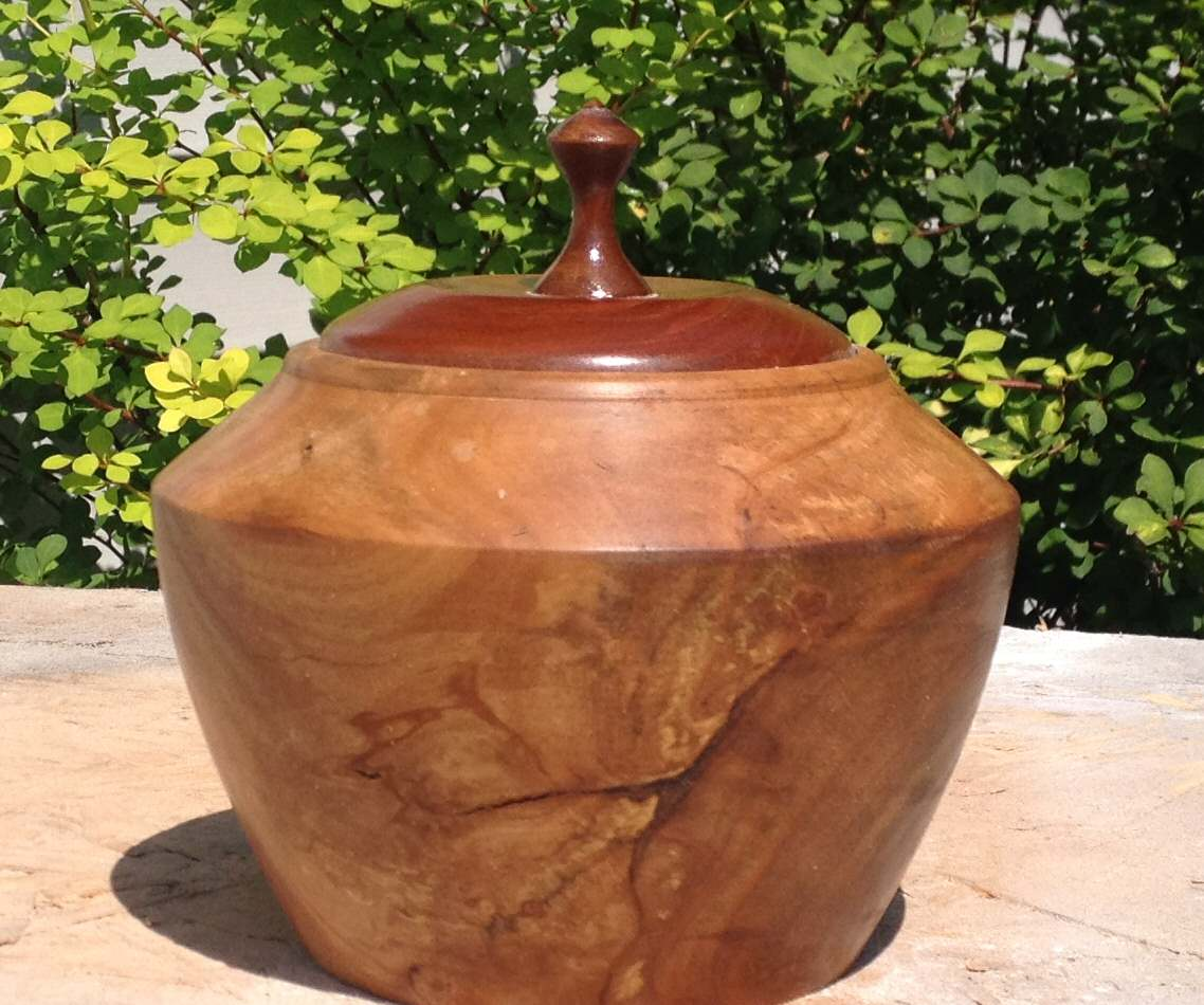 Distressed Cherry Pot